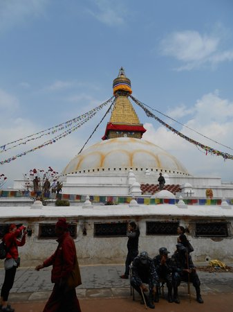 Estupa budista de Boudhanath: Stupa di Boudhanath