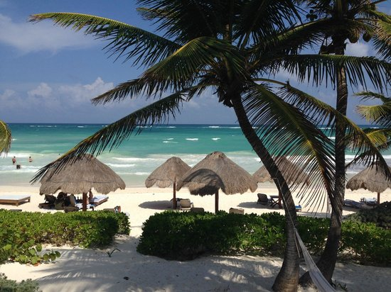 Encantada Beachfront Boutique Hotel : Ocean Front Cottage View