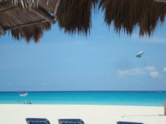 Sandos Playacar Beach Resort: playa soñada