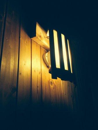 Lomond Luxury Lodges: Private Sauna in Montrose lodge!