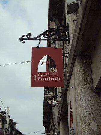 Cervejaria Trindade : Achando a restaurante...
