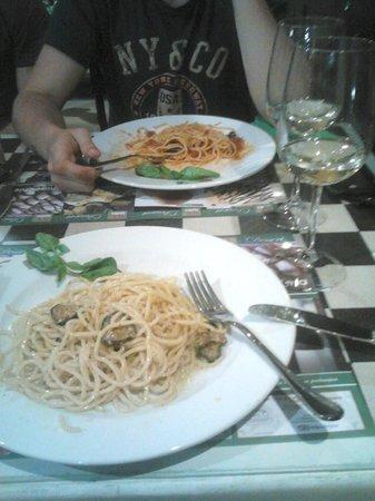 REbasilico Cernaia: Half finished pasta :))