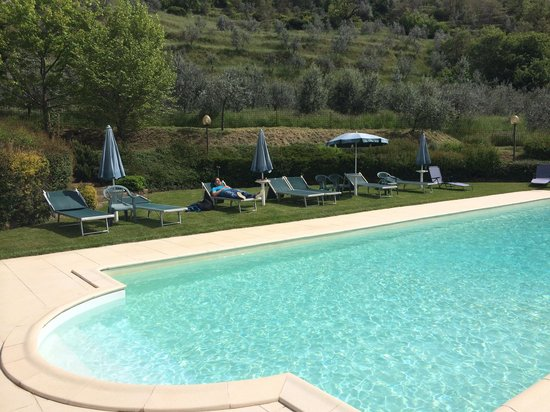 Podere Casarotta: The pool!