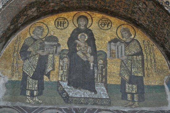 Musée et basilique Sainte-Sophie : Fresken