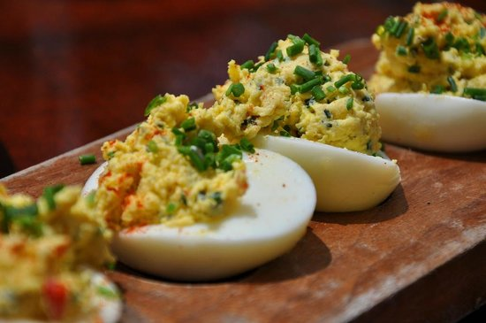 La Grande Orange Cafe : Deviled Eggs - YES!