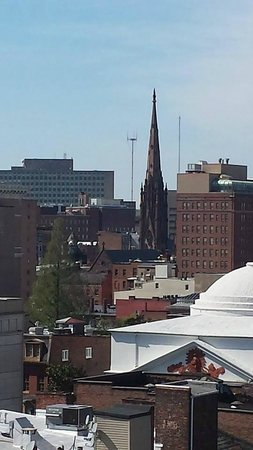 Home2 Suites by Hilton Baltimore Downtown : Morning view from our room
