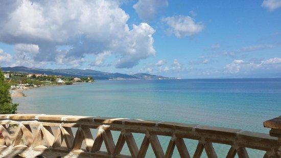 Porta del Mar Beach Hotel: View from the terrace