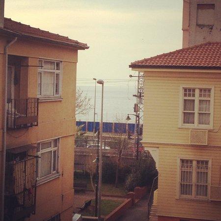 Ottoman Elegance Hotel : Вид с балкона на море