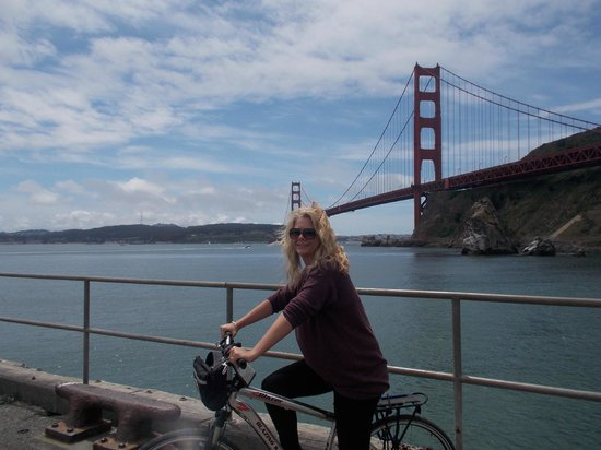 Golden Gate Bridge : Made it to the other side