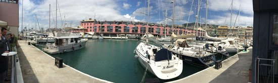 NH Collection Genova Marina : Vista sala pranzo