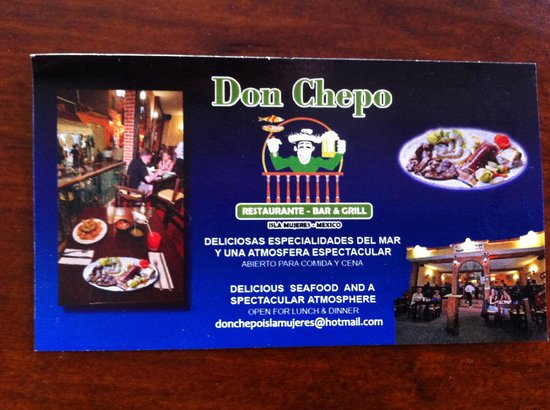 Don Chepo: Business card