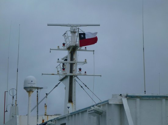Navimag: Bandeira Chilena