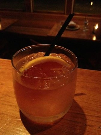 "Park Corner: The ""G3"" with Grapefruit vodka, juice and a wedge"
