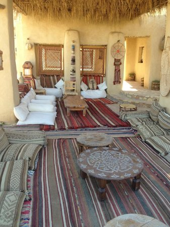 Taziry Ecolodge Siwa: One of the many places to relax or eat