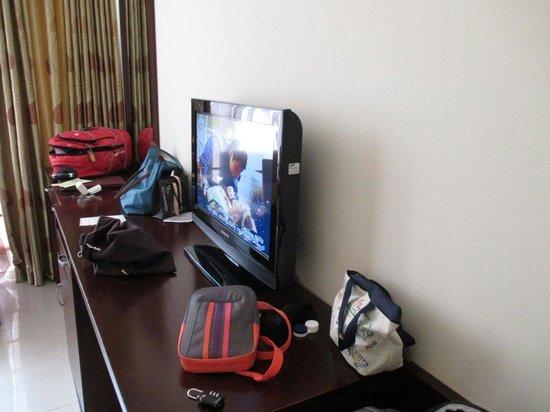 Alagon Western Hotel: Flat tv
