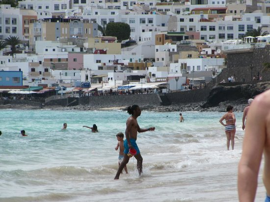Sol Jandia Mar Apartments : morro