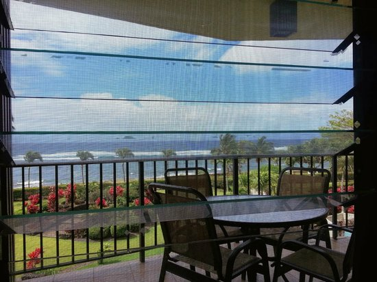 Lawai Beach Resort: View from room.