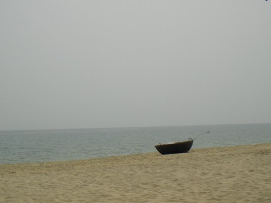 Cua Dai Beach: Our view from here