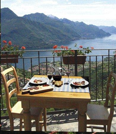 Agriturismo Zertin : terrazza panoramica