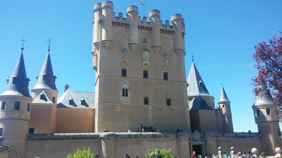 Alcazar de Segovia: torre