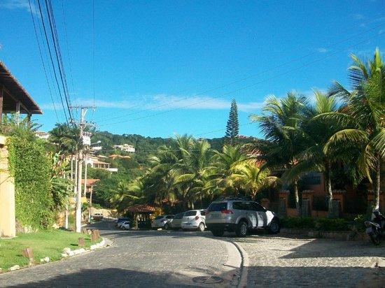 Joao Fernandes Beach : Caminando hacia la playa