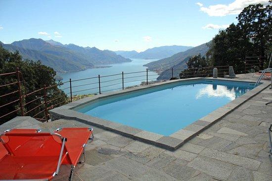 Agriturismo Zertin : piscina