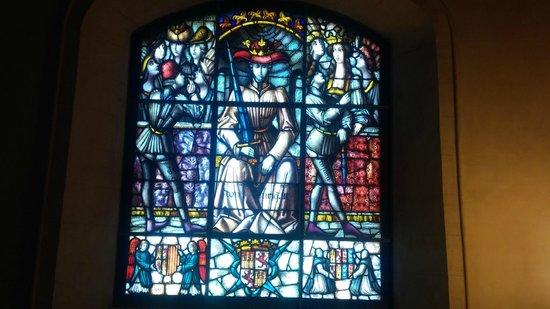 Alcazar de Segovia: detalle del alcazar