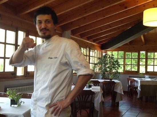 Hotel Cal Majoral: el cocinero , que no queria ser fotografiado