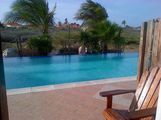 Aruba Cunucu Residence : Right outside your door!