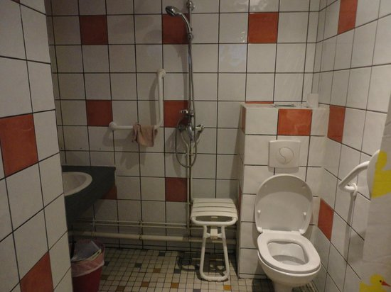 Bastille Hostel : Bathroom (if you pay for one in your bedroom)