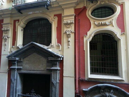 La Casetta : Vue depuis le petit balcon