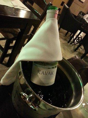 Otantik Restaurant & Winehouse : white wine