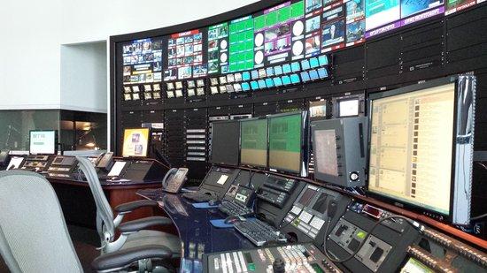 Newseum : Master Control Room-Live