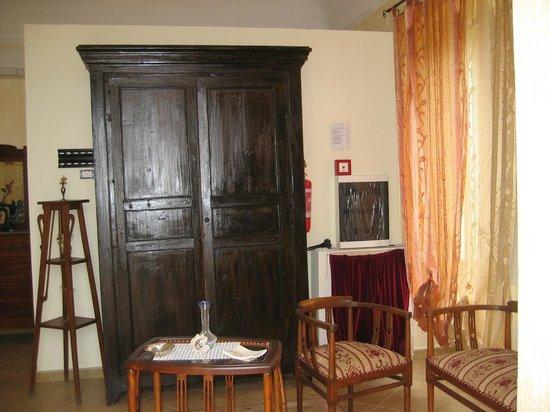 Agriturismo Papa Sisto: Welches private Hotel verfügt schon über eine elegante Jugendstileinrichtung?