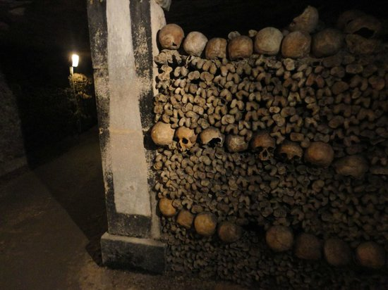 The catacombs - you are literally centimeters away from real skulls and bones.