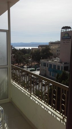 Al Qidra Hotel : Balcony