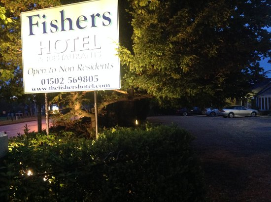 The Fishers Hotel : Front Hotel