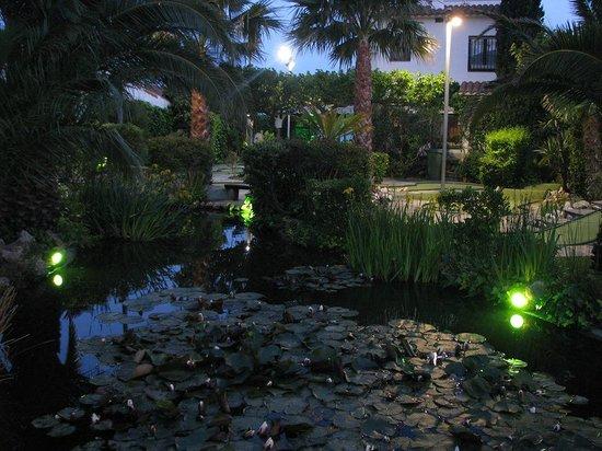 Minigolf Greens: The pond