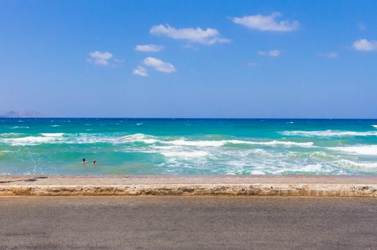 Gouves Sea and Mare Hotel & Suites: Вид на море