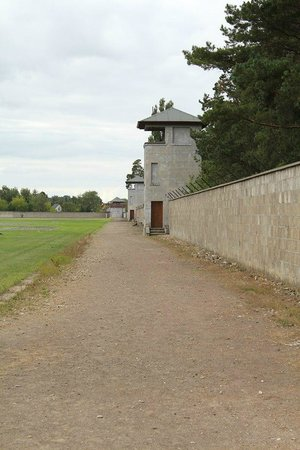 Sachsenhausen Concentration Camp : Guard Tower