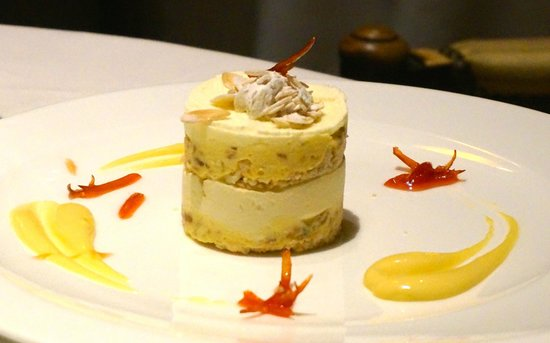 Restaurante Grano de Oro: This dessert looked better than it tasted, just like the other one