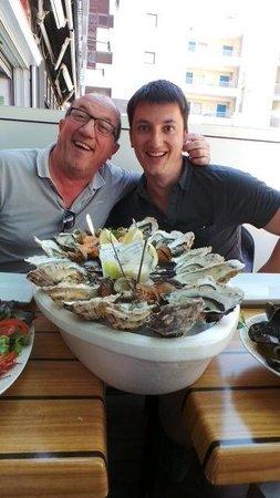 Les Trésors de la Mer : ca c'est un plateau de fruits de mer !