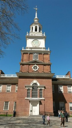 Independence Hall : Independance hall from inside the courtyard