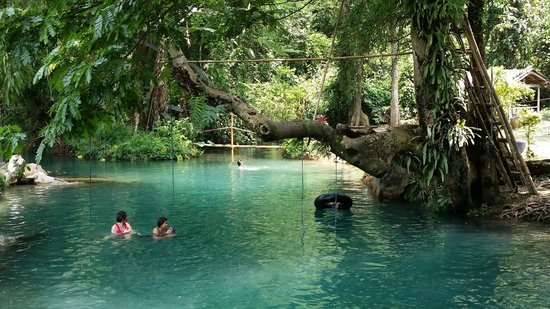 Tham Phu Kham Cave and Blue Lagoon : 세상에 이런 곳이 있네요... 또 가고 싶어요!