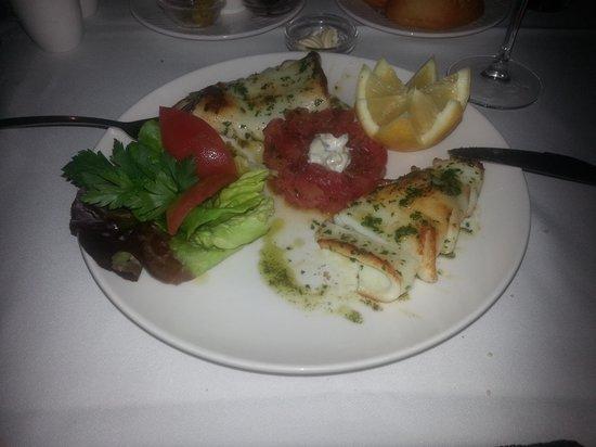 Restaurant Le Quai : Lovely squid