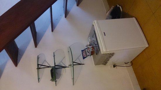 Pousada Ibirapuera: frigobar e escada