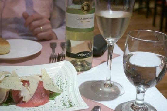 Sapore Trattoria : The excellent wine