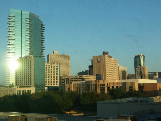 Sheraton Fort Worth Downtown Hotel: View from my room