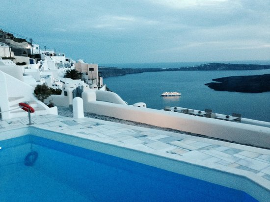 Iliovasilema Suites: View from pool