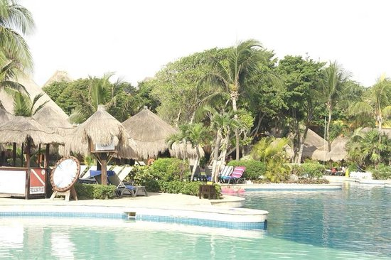 Iberostar Tucan Hotel : The view of the pool